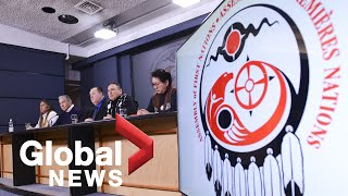 Assembly Of First Nations Chief Addresses Wetsuweten Solidarity Protests And Rail Blockades