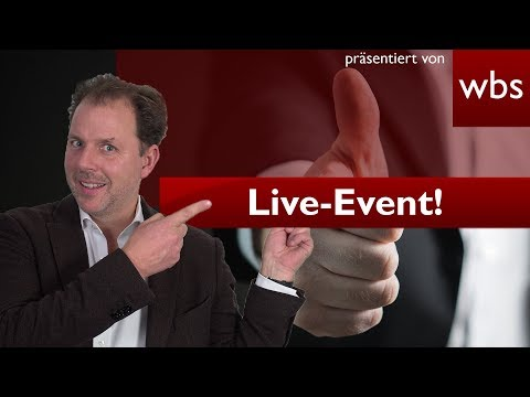 Livestream: 2. Legal Tech Meetup NRW – Rechtsanwalt Christian Solmecke