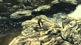 Прыжки со скалы в Skyrim (Выпуск 3)