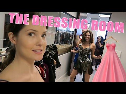 INSIDE THE DRESSING ROOM