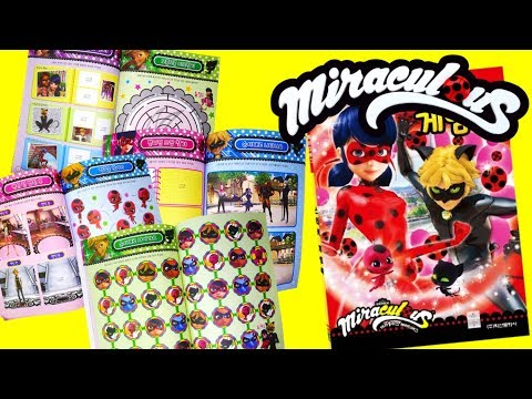 Miraculous Ladybug Activity Book with Puzzles and Stickers