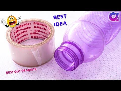 Best Out Of Waste Plastic Bottle Craft Ideas Diy Art Craft Artkala 509