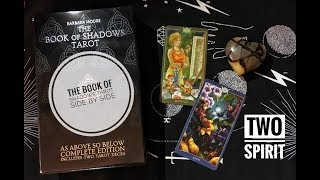The Book of Shadows Tarot - Side by Side