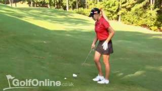 Natalie Gulbis' Uphill and Downhill Lie Tips