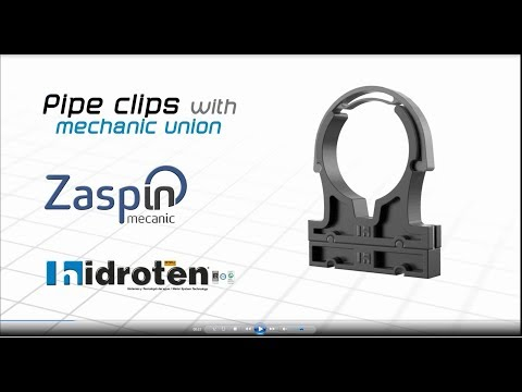 Zaspin, Pipe Clips with Mechanic Union