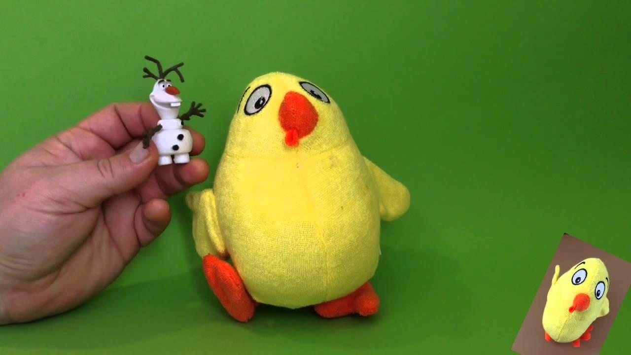 El Pollo Pepe y Olaf, de Frozen, cantan Pim Pom es un muñeco