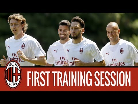 #theDevilsareback: the first 2018/19 training session