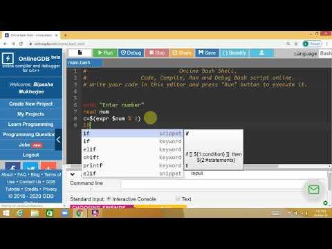 Shell Script Programming Part 1
