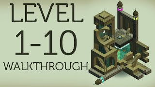 MONUMENT VALLEY Walkthrough All Levels 1-10 + Ending | iOS, Android