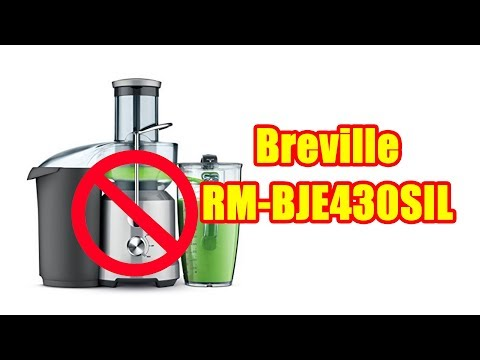, Breville BJE430SIL The Juice Fountain Cold