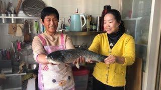 Boiled fish