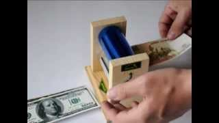 Аппарат для печатания денег в домашних условиях