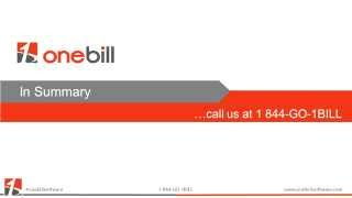 OneBill Telecom Billing and Taxation Integration Explained