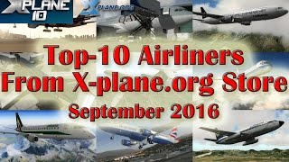 Top-10 Freeware Heavy Aircraft for X-plane 10 (Part 1) - Самые