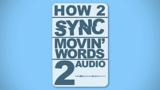 Gambar cover How to Sync Motion Typography to Audio - Adobe After Effects Tutorial