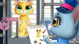 Play Fun Pet Kitten Rescue Kids Game - Kitty Meow Meow City Heroes - Let
