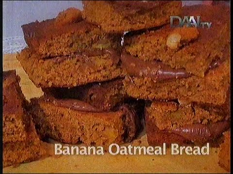 Video Resep Kue Banana Oatmeal Bread ala Chef Vania Wibisono
