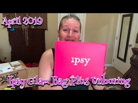 Ipsy Glam Bag Plus April 2019 SPOILERS! - MzPatriciaAnn - Video
