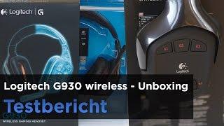 Gaming-Headset Logitech G930 im Test - Unboxing