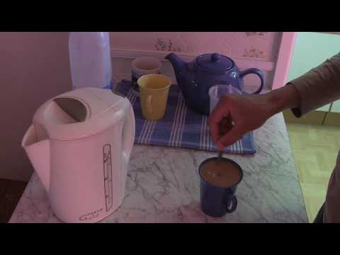 Making a 'Cup Of Instant Coffee'