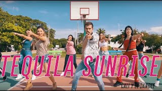 Cali Y El Dandee, Rauw Alejandro   Tequila Sunrise By Cesar James |Zumba Fitness|