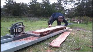 Making and Using a Cheap Chainsaw Mill