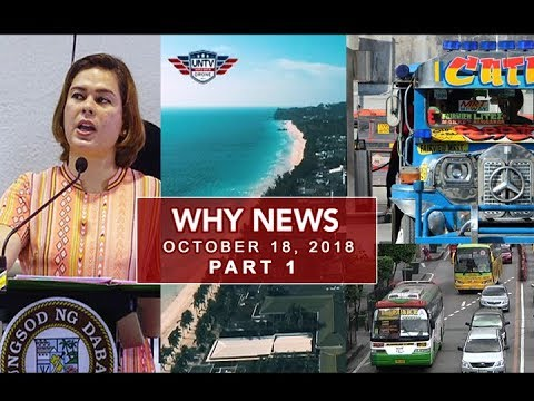 [UNTV]  UNTV: Why News (October 18, 2018) Part 1