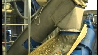 preview picture of video 'Intensive washing of highly contaminated plastic waste with the Herbold washing line'