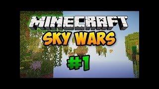 Играем в Sky Wars  с читами! (Minecraft)! #1