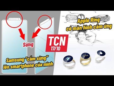 Apple sắp ra mắt thêm NHẪN thông minh, Samsung cắm sừng lên điện thoại | TCN 17.10