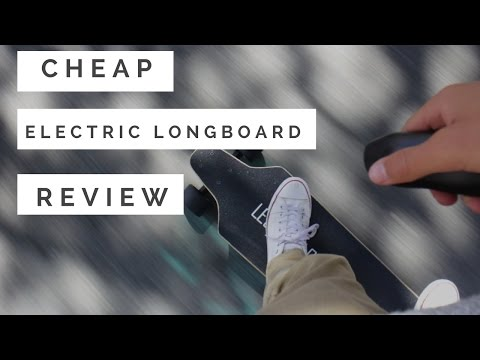 lectric longboard review (cheap electric skateboard)