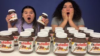 Download Video Don't Choose the Wrong Nutella Slime Challenge MP3 3GP MP4