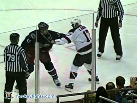 Darren Langdon vs Jody Shelley