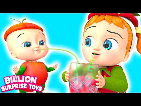 Download I am a Little Strawberry | BillionSurpriseToys - Nursery Rhymes & Kids Songs Mp4 HD Video and MP3
