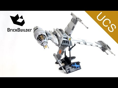 Vidéo LEGO Star Wars 10227 : B-Wing Starfighter