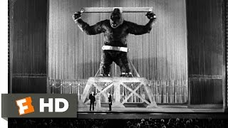 King Kong (1933) - Kong Escapes Scene (7/10) | Movieclips
