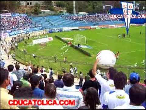 """""""Barra Los Cruzados en Sausalito febrero 2008"""" Barra: Los Cruzados • Club: Universidad Católica • País: Chile"""