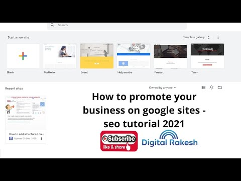 How to promote your business on google sites
