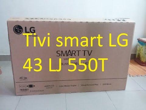 Hướng dẫn bạn lắp đặt sử dụng tivi LG 43LJ550T  - kết nối mạng