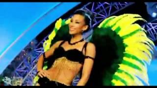 Chantal Zaky Miss Jamaica parades National Costume - Miss Universe 2012