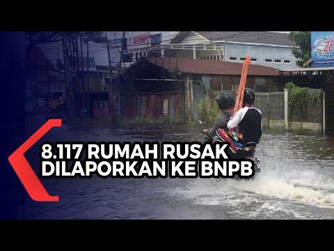 Disperkim Kalsel Ajukan 8.117 Rumah Rusak Akibat Banjir Untuk Mendapat Bantuan