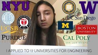 MY 17 COLLEGE DECISION REACTIONS 2018 (UCLA, UCB, NYU, UM, BU, UCSD, and more!)