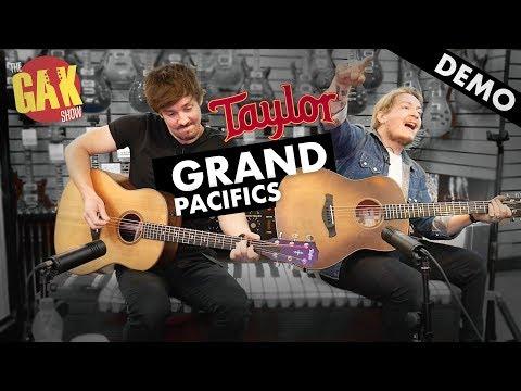 Taylor Grand Pacific Acoustics | Demo