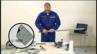 Процесс сварки электрофузионных фитингов с помощью струбцины