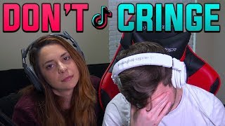 TRY NOT TO CRINGE CHALLENGE!! - Tik Tok w/ My Girlfriend