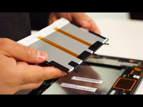 Sony Xperia Tablet Z Teardown: Painstakingly Packed Parts