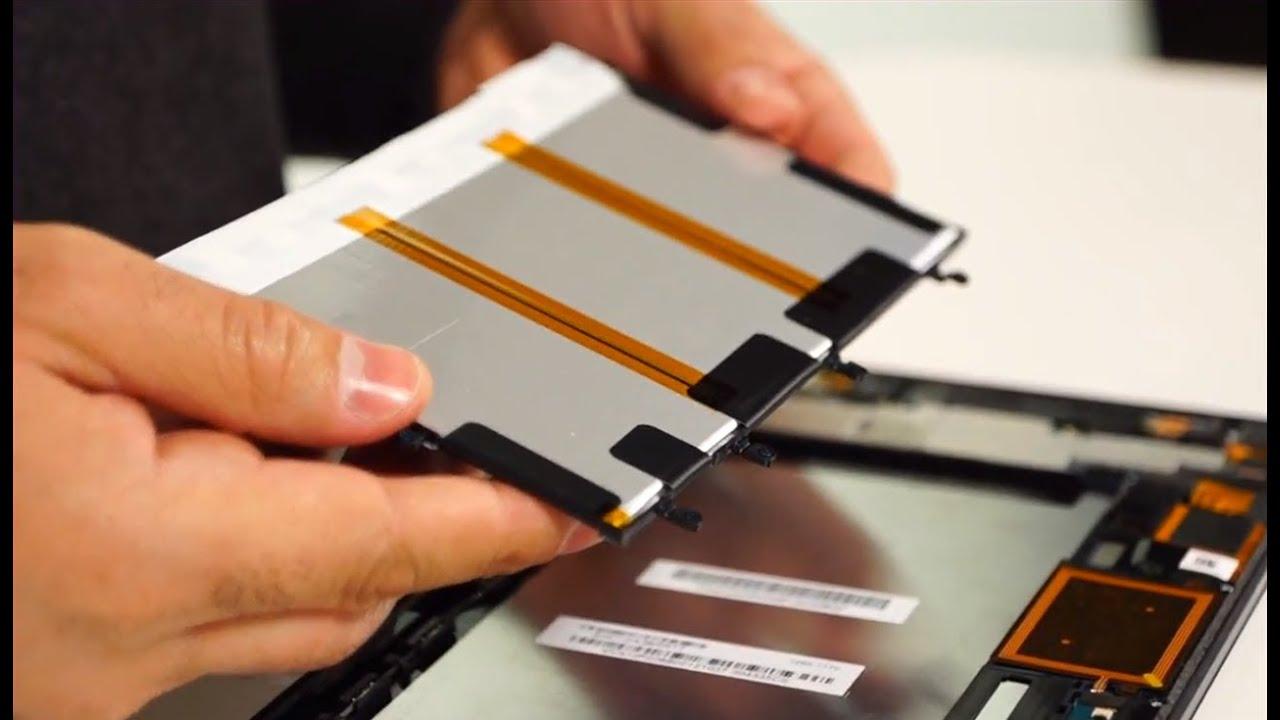 Sony Xperia Tablet Z Teardown: Painstakingly Packed Parts