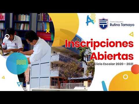 Centro Educativo Rufino Tamayo || Promocional