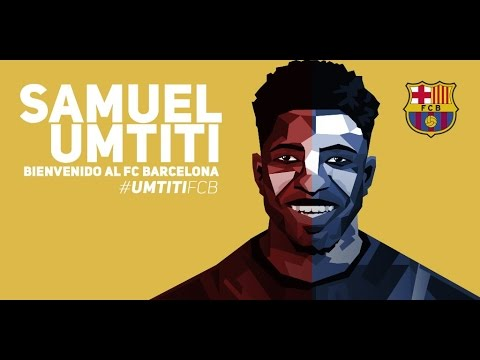 Samuel Umtiti - Welcome to Barcelona! - Olympique Lyon - Amazing Defensive Skills - 2016 - HD