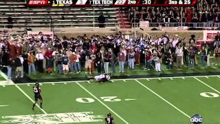 #1 Texas vs. #7 Texas Tech (2008)